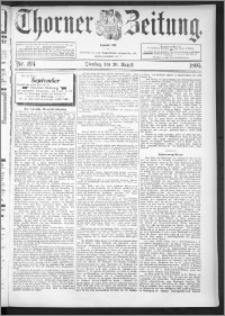 Thorner Zeitung 1895, Nr. 194