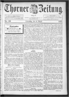Thorner Zeitung 1895, Nr. 196