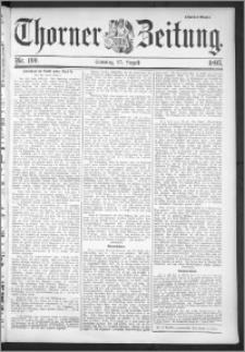 Thorner Zeitung 1895, Nr. 199 Zweites Blatt