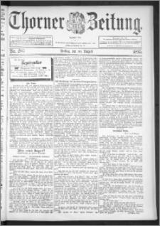 Thorner Zeitung 1895, Nr. 203