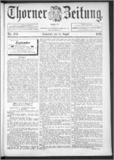 Thorner Zeitung 1895, Nr. 204