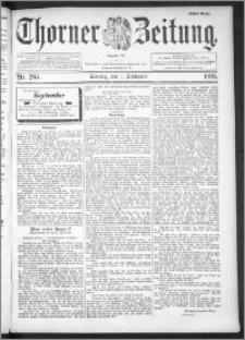 Thorner Zeitung 1895, Nr. 205 Erstes Blatt