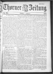 Thorner Zeitung 1895, Nr. 205 Zweites Blatt