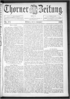 Thorner Zeitung 1895, Nr. 207