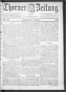 Thorner Zeitung 1895, Nr. 208