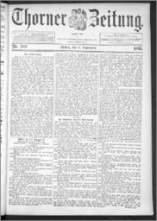 Thorner Zeitung 1895, Nr. 209