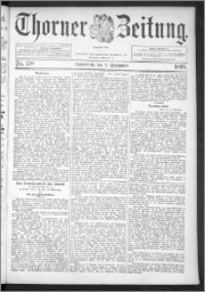 Thorner Zeitung 1895, Nr. 210