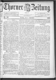 Thorner Zeitung 1895, Nr. 212