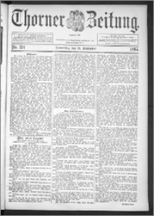 Thorner Zeitung 1895, Nr. 214