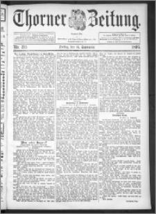 Thorner Zeitung 1895, Nr. 215