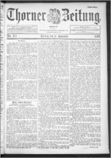 Thorner Zeitung 1895, Nr. 217 Erstes Blatt