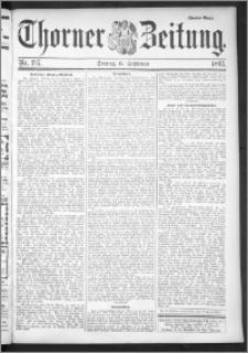 Thorner Zeitung 1895, Nr. 217 Zweites Blatt