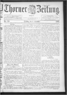 Thorner Zeitung 1895, Nr. 218