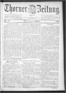 Thorner Zeitung 1895, Nr. 219