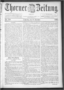 Thorner Zeitung 1895, Nr. 220