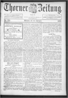 Thorner Zeitung 1895, Nr. 225