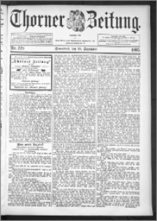 Thorner Zeitung 1895, Nr. 228