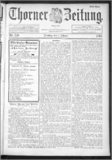Thorner Zeitung 1895, Nr. 230 Erstes Blatt