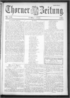Thorner Zeitung 1895, Nr. 230 Zweites Blatt