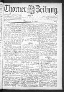 Thorner Zeitung 1895, Nr. 231