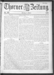Thorner Zeitung 1895, Nr. 235 Drittes Blatt