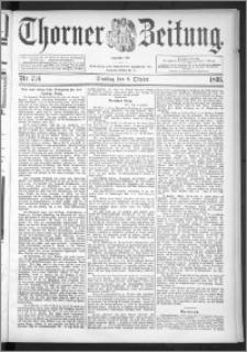 Thorner Zeitung 1895, Nr. 236