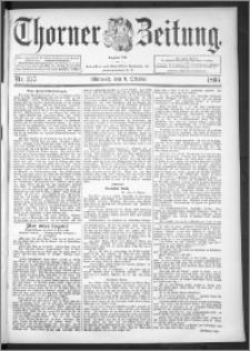 Thorner Zeitung 1895, Nr. 237