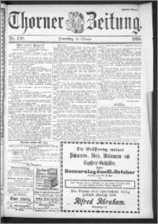 Thorner Zeitung 1895, Nr. 238 Zweites Blatt