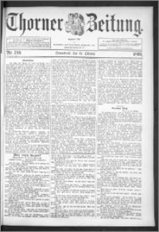 Thorner Zeitung 1895, Nr. 240