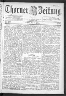 Thorner Zeitung 1895, Nr. 241 Erstes Blatt