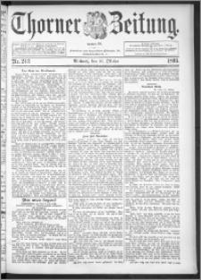 Thorner Zeitung 1895, Nr. 243