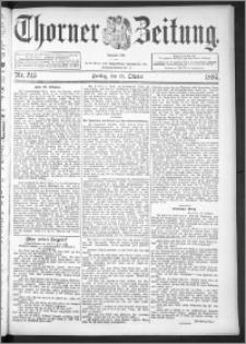 Thorner Zeitung 1895, Nr. 245