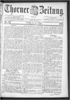 Thorner Zeitung 1895, Nr. 248