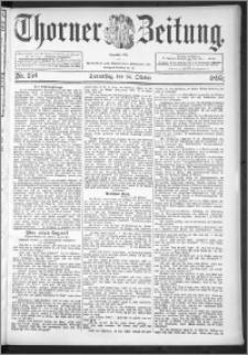 Thorner Zeitung 1895, Nr. 250