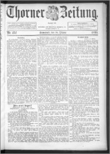 Thorner Zeitung 1895, Nr. 252