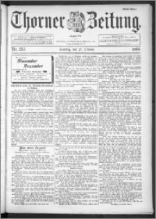 Thorner Zeitung 1895, Nr. 253 Erstes Blatt