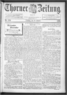Thorner Zeitung 1895, Nr. 254