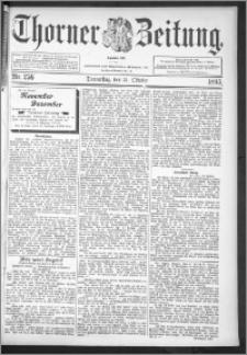 Thorner Zeitung 1895, Nr. 256