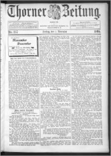 Thorner Zeitung 1895, Nr. 257