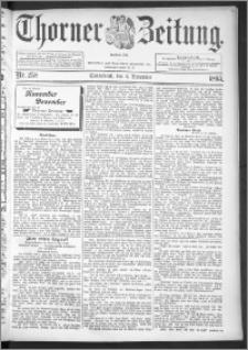 Thorner Zeitung 1895, Nr. 258