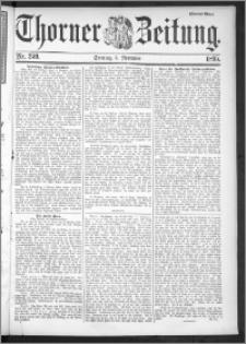Thorner Zeitung 1895, Nr. 259 Zweites Blatt