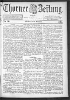 Thorner Zeitung 1895, Nr. 261