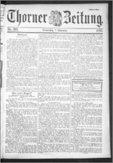 Thorner Zeitung 1895, Nr. 262 Zweites Blatt