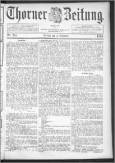 Thorner Zeitung 1895, Nr. 263