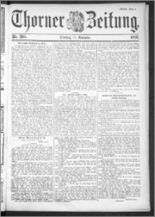 Thorner Zeitung 1895, Nr. 265 Drittes Blatt
