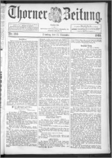Thorner Zeitung 1895, Nr. 266