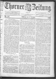 Thorner Zeitung 1895, Nr. 267