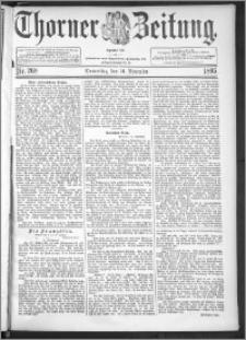 Thorner Zeitung 1895, Nr. 268