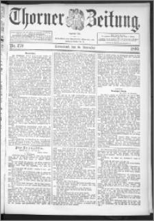 Thorner Zeitung 1895, Nr. 270