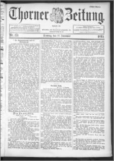 Thorner Zeitung 1895, Nr. 271 Erstes Blatt